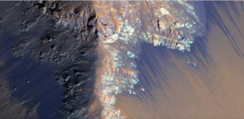 Underground Lake Discovered On The Red Planet Could Sustain Life